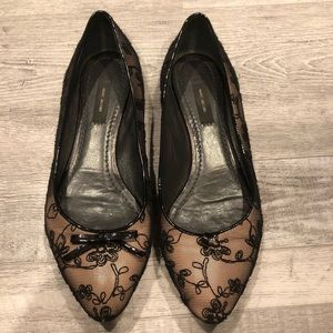 Marc Jacobs | Lace Overlay Ballet Flats